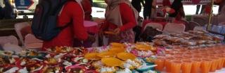 Meriahkan HUT RI ke-73, Inspektorat Gelar Stand Jajanan Rakyat